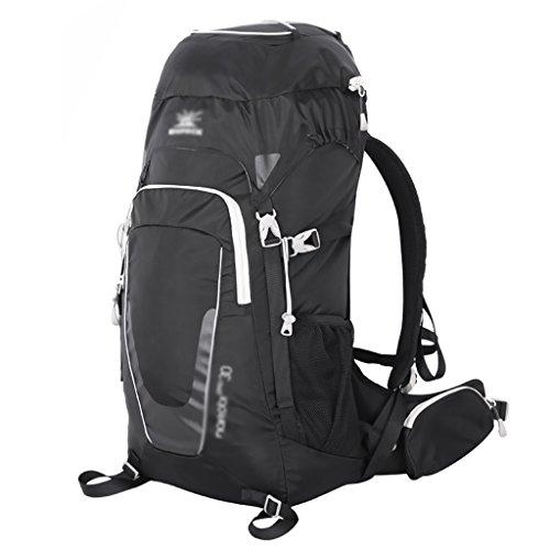 sac à dos randonnée Les modèles masculins et féminins randonnée en plein air sac étanche sac à bandoulière de randonnée sportive 30L Sacs à dos de randonnée ( Couleur : Noir , taille : 30L )