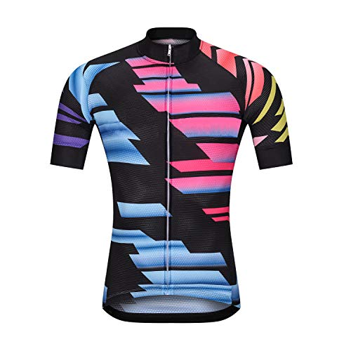 AIPEILEI Men's Cycling Jersey Short Sleeve Breathable Mountain Bike JerseyCycling Clothing for Men