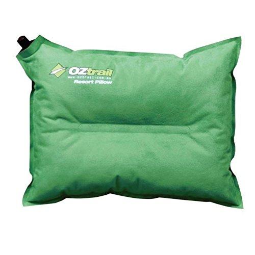 OZtrail - Almohada Auto-Inflable de Viaje Resort ACS-TPR-B Resort Self Inflating Pillow, autohinchable, Auto-inflado 35x45x15cm