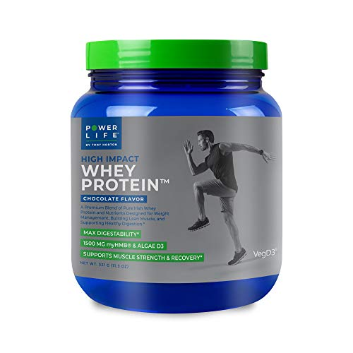 Tony Horton PowerLife® High Impact Whey Protein, Chocolate Flavor 15 Servings