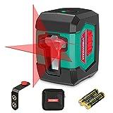 Livella Laser 15M, HYCHIKA Livella Laser Autolivellante a Croce con Modulo Laser Doppio (Alternato...