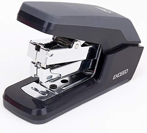 Staplers Office Small One Touch Stapler Effortless Ergonomic Design 25 Sheet Capacity Deli0370 product image