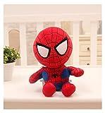 Peluche poupée 27cm Homme Spiderman Peluche Jouets Film poupées de Films Doux héros héros de Noël Cadeaux de Noël pour Enfants (Color : D, Height : 27cm)