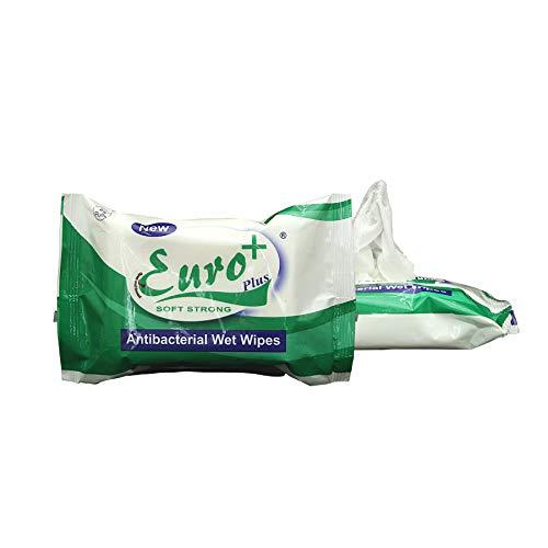 Adeptt Euro-series Antibacterial Wet Wipes Pack – 25 Pulls (Pack of 1)