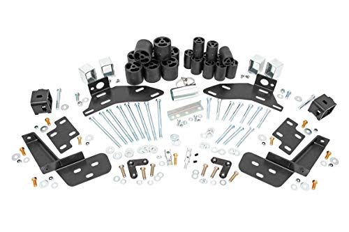 Rough Country 3' Body Lift Kit (fits) 1988-1994 Chevy Silverado GMC Sierra 1500 2500 | Gas | Suspension System | RC703