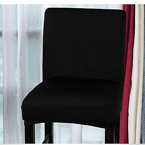 Best Quality - Chair Cover - home kitchen chair slipcover stretch chair seat cover coffee bar chair cover dining hotel banquet slipcover housse de chaise - by Melissa - 1 PCs