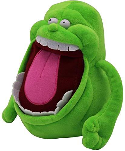 LANCOLD Peluche de monstruo verde con una gran boca super suave de peluche lindo suave peluche de dibujos animados muñeca de 19 cm