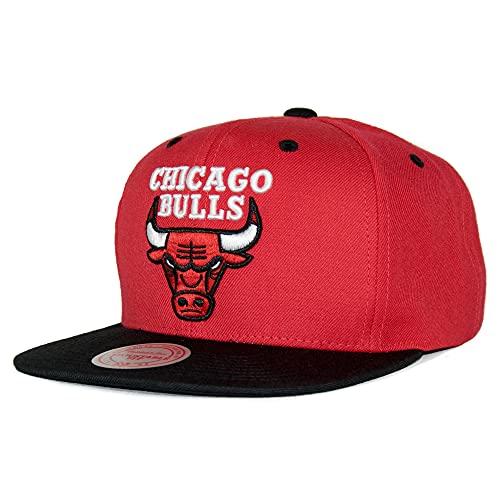 Mitchell & Ness Bulls Special Snapback – Gorra nostálgica NBA HWC Chicago Bulls, color rojo ...