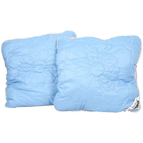 Stoffhanse Kissen 80 x 80 cm, 2er Set blau | Bettwaren | Kopf-Kissen | nach Öko-Tex Standard