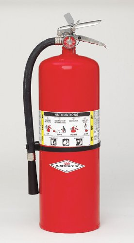 Amerex 423, 20lb ABC Dry Chemical Class A B C Fire Extinguisher