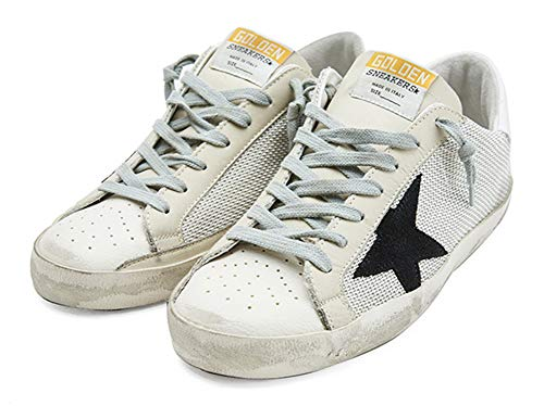VCEGGDB Zapatillas de deporte de moda para mujer Zapatos casuales transpirables de malla, color, talla 40.5 EU