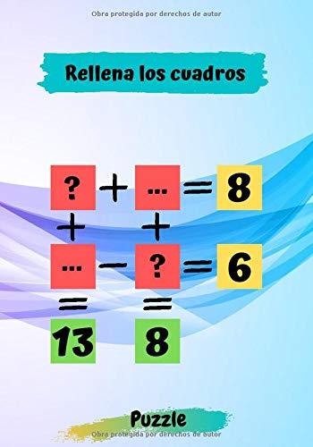 Rellena los cuadros: Libro de actividades para adultos Cómo resolver este rompecabezas | ¿Puedes llenar estas casillas correctamente? Acertijo ... los cuadros con los valores correctos
