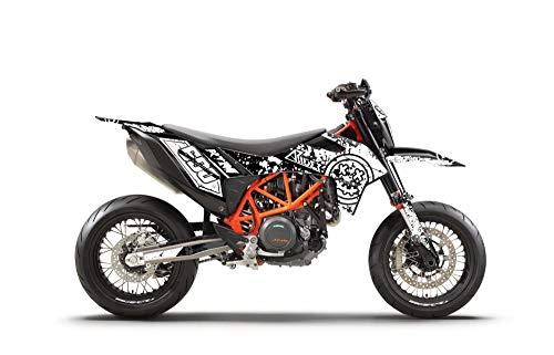 ARider Dekor für KTM 690 SMC-R 2019-2021 Smiley Edition (Weiß)