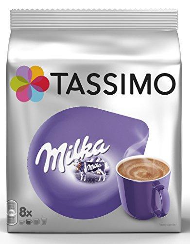Tassimo Kapseln Milka, 40 Kakao Kapseln, 5er Pack, 5 x 8 Getränke