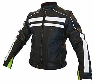 Tour Master Mens Renegade Leather Biker Vest Black Medium