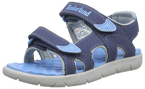 Timberland Unisex-Kinder Perkins Row-2-Strap Sandalen, Blau (Vintage Indigo Ek4), 32 EU