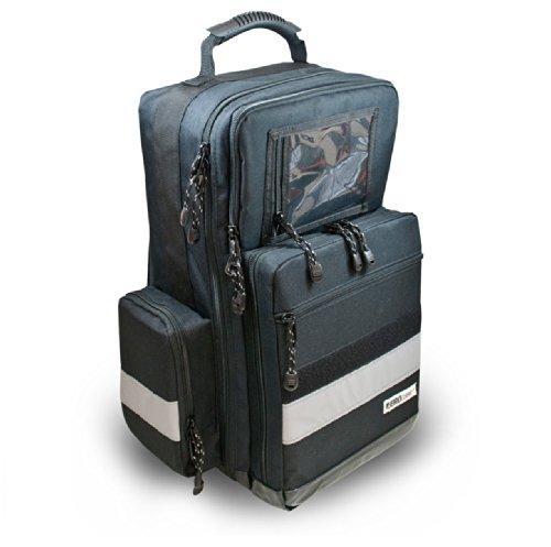 AEROcase® - Pro1R PL1C - Notfallrucksack POLYESTER SCHWARZ Gr. L - Rettungsdienst Notfall Rucksack Notarzt