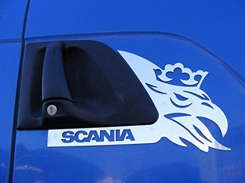 2 paneles decorativos para la puerta de camiones Scania R/G/
