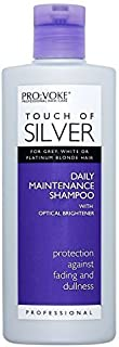 6 x Touch Of Silver Daily Shampoo 200ml by Pro-Voke