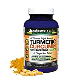 Turmeric Curcumin with Bioperine 1510 Milligrams by Doctors Nutra Nutraceuticals - Plus Ginger Extract with 95 Percent Standardized Curcuminoids - Natural Anti-Inflammatory - Pain Support - Joint Aid