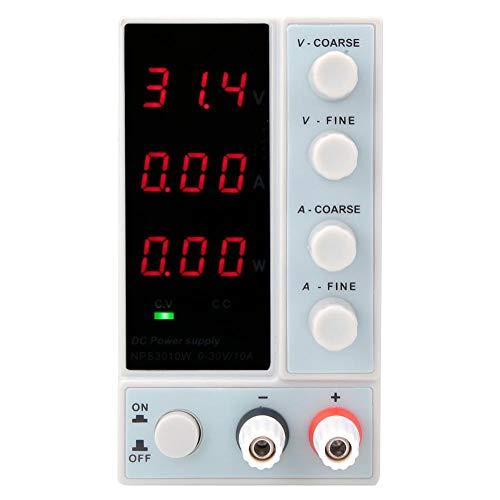 Fuente de alimentación Regulada por CC, Nps-3010w Conmutación ajustable digital Fuente de alimentación regulada por CC con pantalla de alimentación para reparación de equipos de laboratorio(EU)