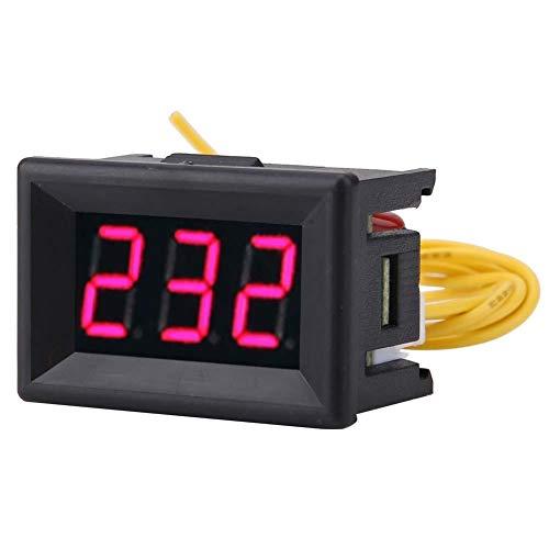Voltímetro, CA 0.36 ″ 70-380V Medidor de voltaje Pantalla LED Panel de voltaje digital utilizado para CA 220V Prueba de electricidad de red, Monitoreo de voltaje del generador 220v