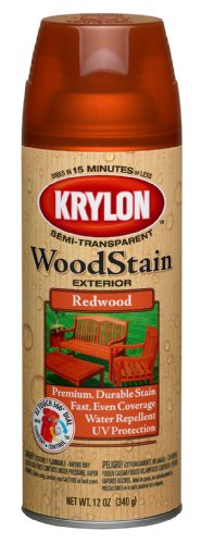top rated Krylon K03604000 Outdoor translucent wood stain, mahogany, 12 oz 2020