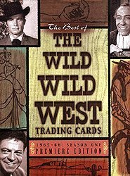 The Best of Wild Wild West Season 1 - Trading Card Binder PLUS 100-Card Base Set