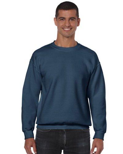 Gildan Crew Neck Sweatshirt adulte Heavy Blend ™ indigo bleu XL