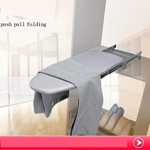 LJQLXJ Tabla de planchar Hogares Strijkplank Overtrek Accesorios plegables de tela Accesorios para el hogarCubierta Tabla de planchar de hierro, modelo B