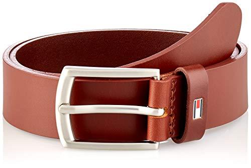Tommy Hilfiger Kids Leather Belt, Cinturn Niños, Coñac, L/XL