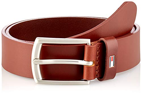 Tommy Hilfiger Kids Leather Belt Cintura, Cognac, L/XL Bambino