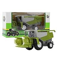 農業収穫車モデル、1:50スケールの車のおもちゃファーマートラクター車のおもちゃ、ギフトの子供のための