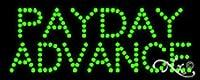 8x 20x 1インチPayday Advance Non点滅LEDウィンドウサイン