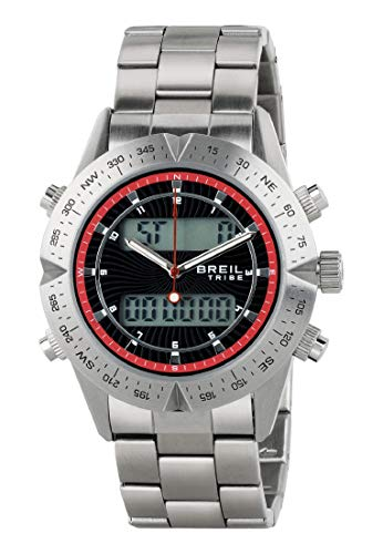 Reloj BREIL por Hombre Digital Way con Correa de Acero, Movimiento Doble Tiempo Cuarzo