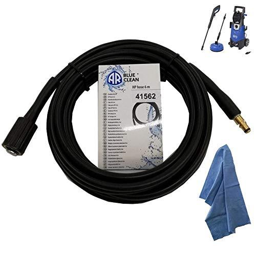 Parpyon® - Manguera hidrolimpiadora Annovi Reverberi - Black Decker - Stanley Tubos, alargador, sonda accesorios para hidrolimpiadoras de agua fría Max 160 Bar + paño Parpy (AR41562)