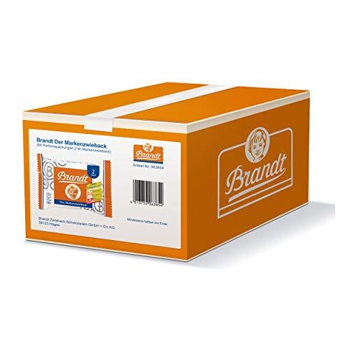 Brandt Markenzwieback Klassik Karton 68 x 2 Scheiben