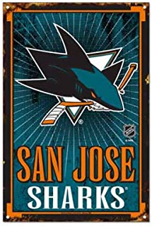 WinCraft NHL San Jose Sharks 6