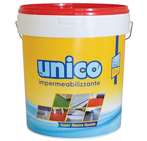 ICOBIT Super resina liquida impermeabilizzante 1 Kg, Rosso