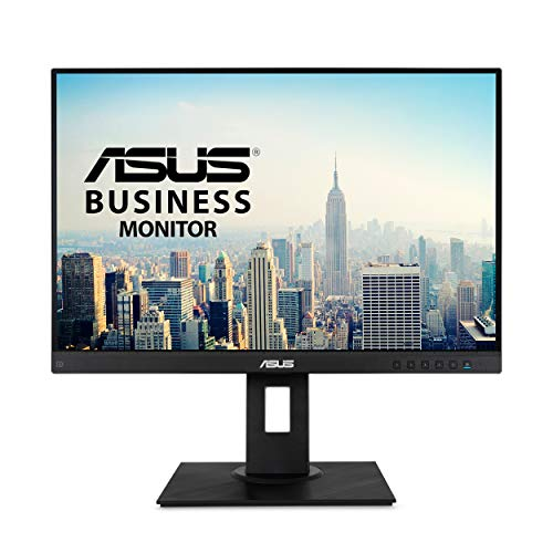 "Asus BE24WQLB 24.1"" Business Monitor Wuxga (1920 X 1200) IPS Eye Care DisplayPort HDMI D-Sub USB"
