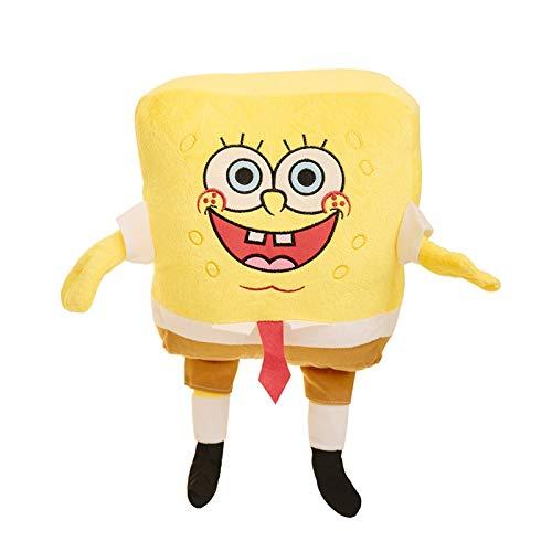 letaowl Stofftier 1pcs 50cm Cartoon Spongebob Plüsch Handwärmer Weiche Anime Cosplay Puppe Für Kinder Spielzeug Kawaii Sofa Kissen Kreatives Geschenk Für Kinder