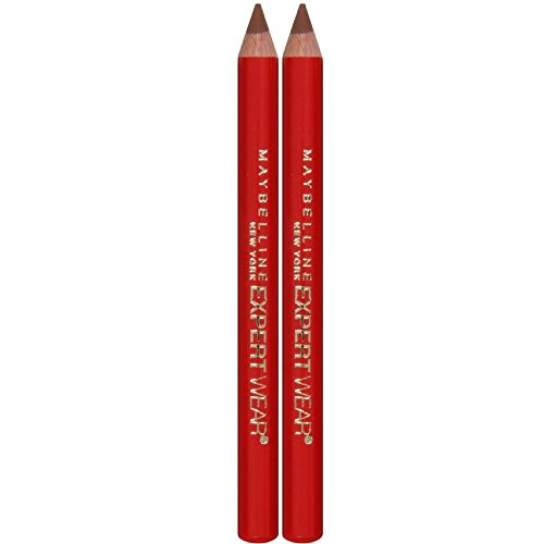 Maybelline Expert Eyes Brow And Eye Pencil, Blonde [107], 0.03 oz (Pack of 2)