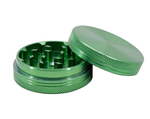 Imagen del producto Wamvp 2 Piezas Premium Grinder Metálico para Hierbas Secas y Especias en Hogar Verde