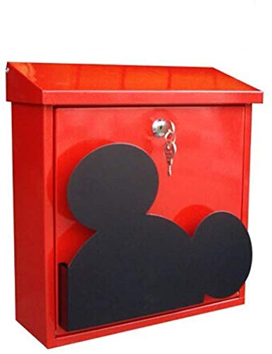 Brievenbus Metalen Mail Box Suggestie RVS Outdoor Box Muur gemonteerd Afsluitbare Office Brievenbus Landelijke Postbus Beveiliging mailbox