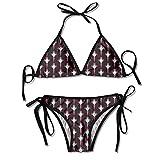 Real Club CE-lta de Vi-go Women's Summer Swimwear Triangle Bikinis Halter Swimsuit