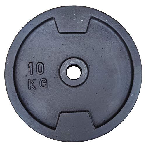 Hantelscheiben Gusseisen 30mm 5 10 15 20 kg Hantel Gewichte Scheiben Fitness, Gewicht:1x 10kg