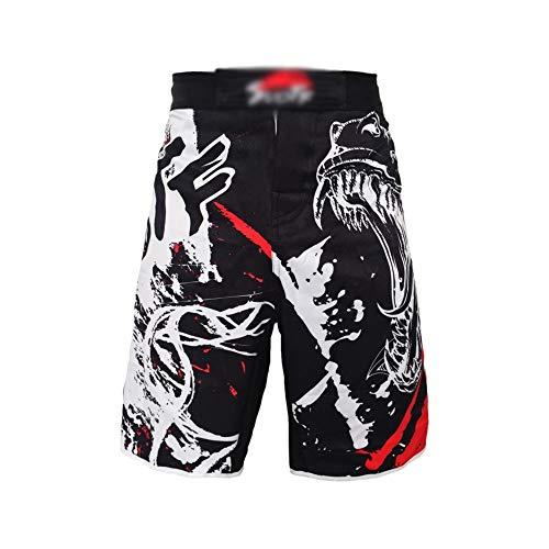Troncos de Boxeo MMA Pantalones Cortos Pantalones Cortos de