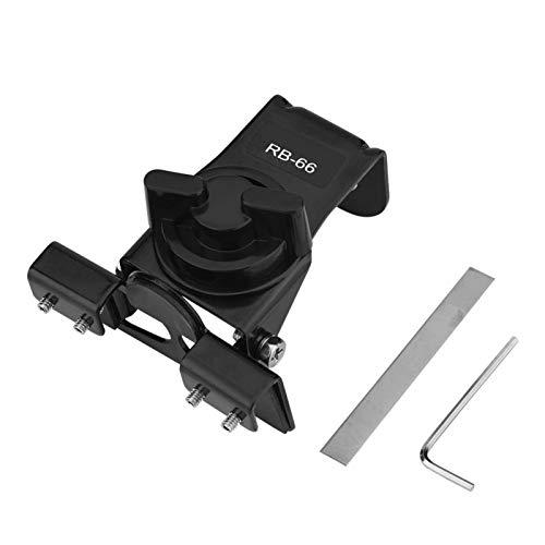 Jingyig Soporte Estable para Antena de vehículo, Soporte de Antena móvil para automóvil, tamaño pequeño de Acero Inoxidable para vehículo Soporte de Clip de Antena de automóvil Soporte de Clip de