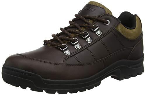 Aigle Herren Alten Leather Sneaker, Braun (Brown 001), 42 EU
