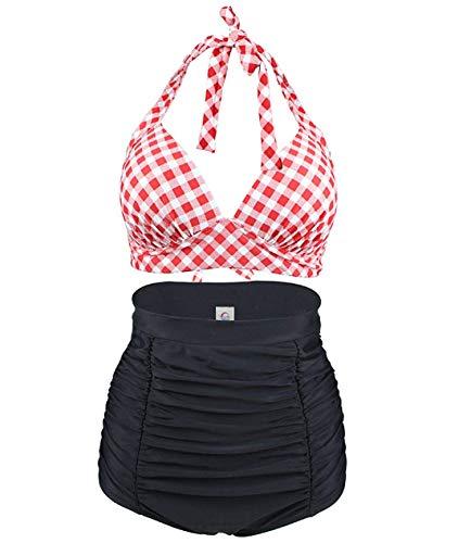 Uni-Wert Damen Bikini Set High Waist...